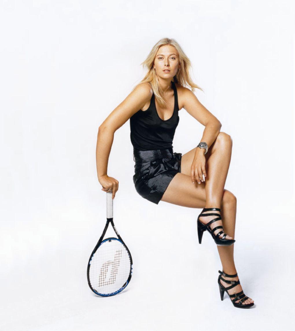 sharapova legs Maria