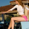 Elyssa's legs in Micro Mini skirt Best legs net photo gallery